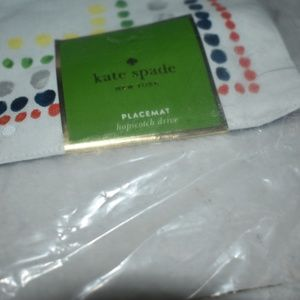 2 New Kate Spade Placemats Kate Spade New York